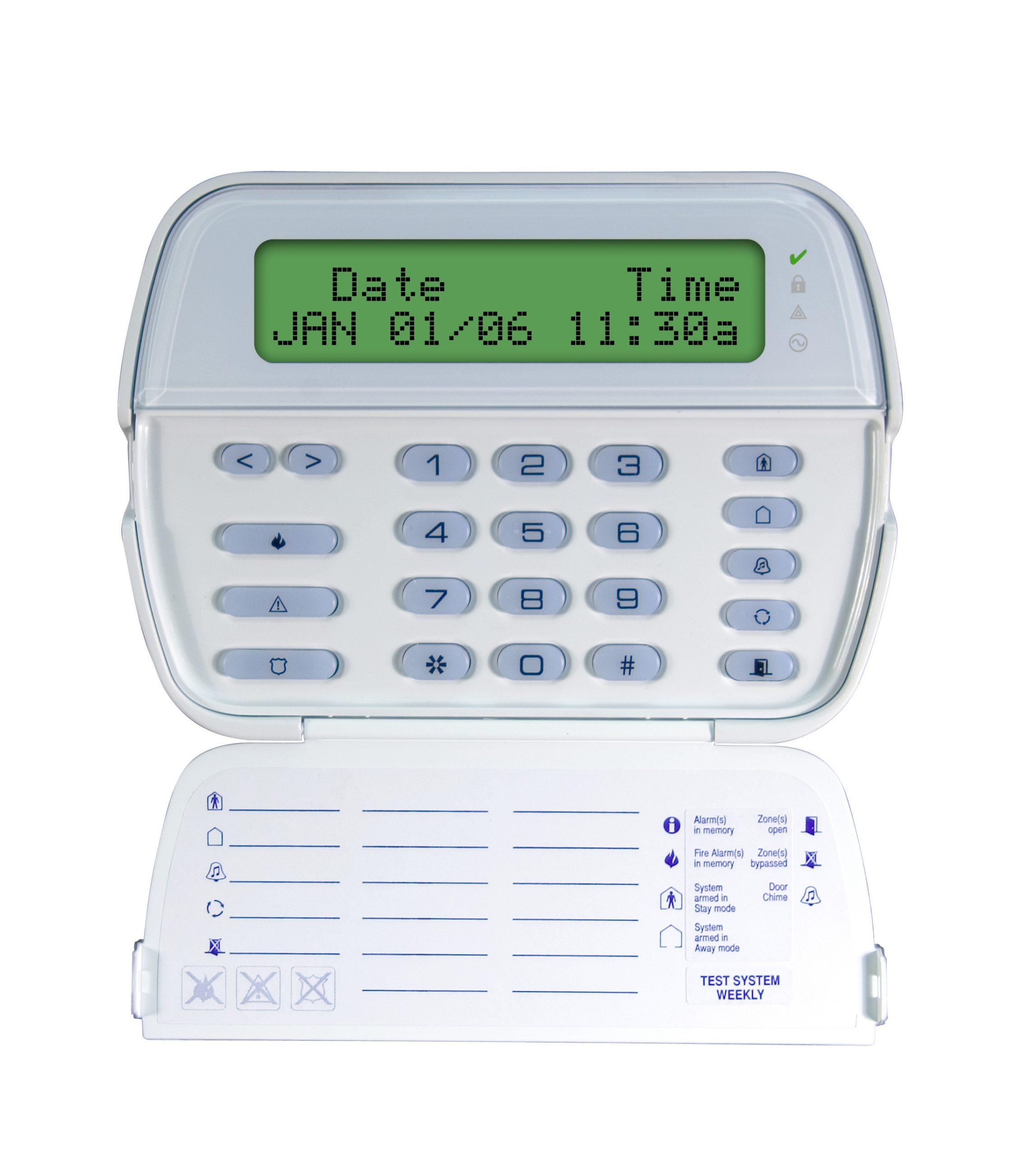 LCD 64-Zone Full-Message Keypad Console (PK5500)